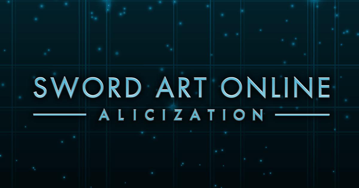 Sword Art Online Official Usa Website