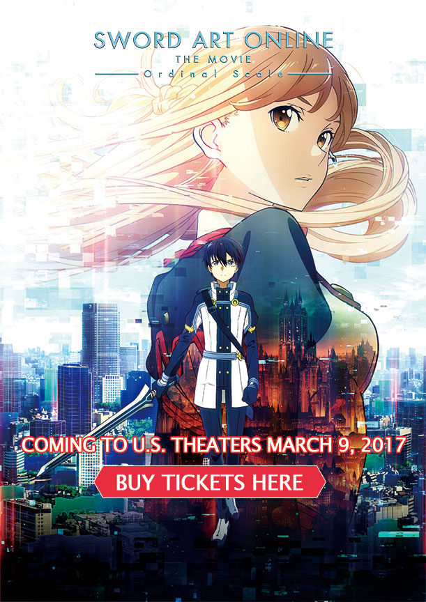 SWORD ART ONLINE The Movie - Ordinal Scale -